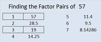 Factoring | Find the Factors | Page 2
