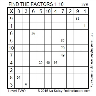 379 Factors