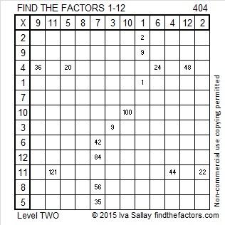404 Factors