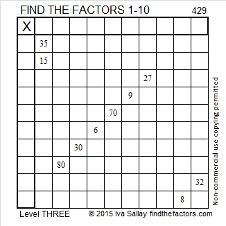 429 Puzzle