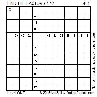 481 Puzzle