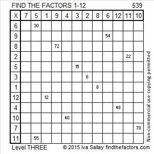 539 Factors
