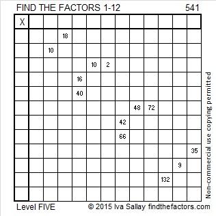 541 Puzzle