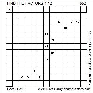 552 Puzzle
