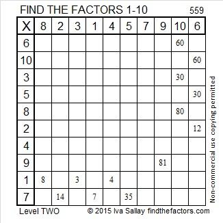 559 Factors