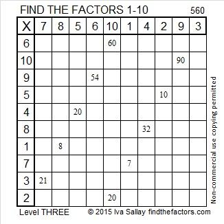 560 Factors