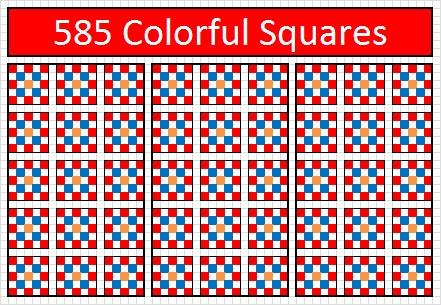 585 Squares-1