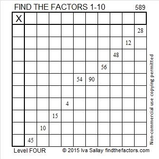 589 Puzzle