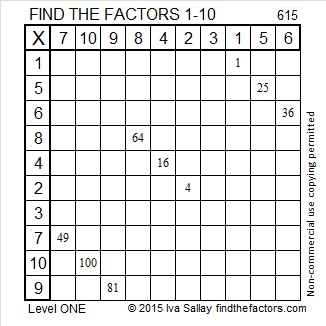 615 Factors