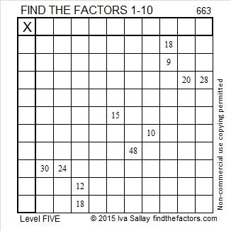 663 Puzzle