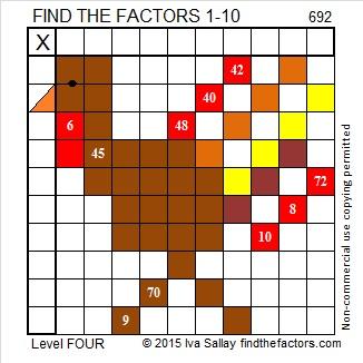 692 Turkey Puzzle