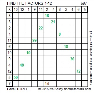 697 Factors