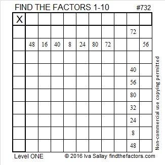 732 Puzzle