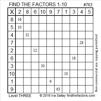 763 Factors