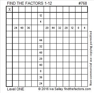 768 Puzzle