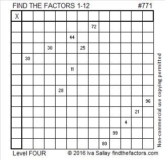 771 Puzzle