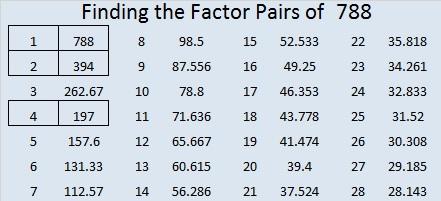 788-factor-pairs